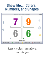 Show Me… Colores, Numbers, and Shapes