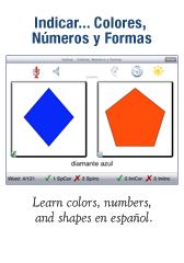Indicar…Colores, Numeros, y Formas